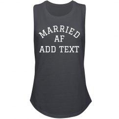 Custom Married AF Shirt