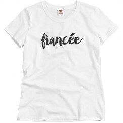 Short Sleeve Fiancée Shirt