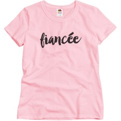 Short Sleeve Fiancée Shirt