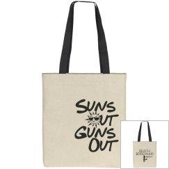 Sun & Gun Beach Tote