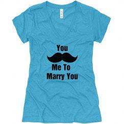 Mustache Marry Me