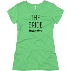 Bride's Broads Custom Matching