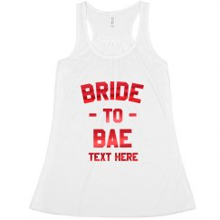 Bride to Bae Metallic Bachelorette
