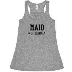 Maid of Honor Varsity Font