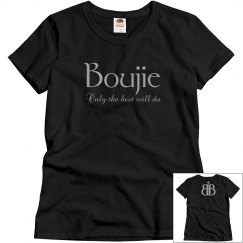 Boujie: Only the best will do with Logo