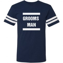 Grooms Man Bachelor Party Shirt