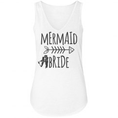 Mermaid Bride Woman's Flowy Tank Top