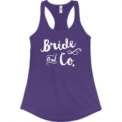 Bride and Co. Tank Top