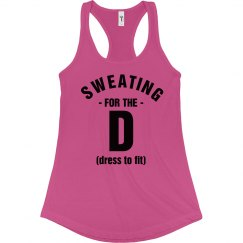 Funny Sweating For Dress FIt