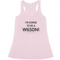 Going To Be A Wilson
