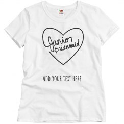 Personalized Junior Bridesmaid