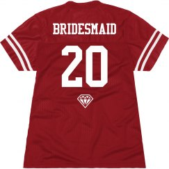 Fun Team Bride Jersey 2