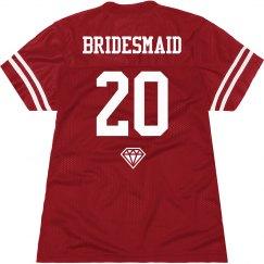 Fun Team Bride Jersey 2
