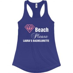 Perfect tank top for the beach bride