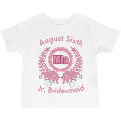 Jr. Bridesmaid Tee