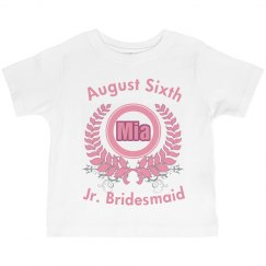 Jr. Bridesmaid Tee