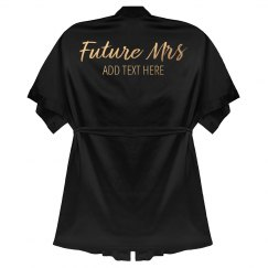 Gold Custom Future Mrs