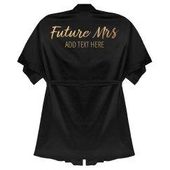 Gold Custom Future Mrs