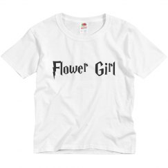 Flower Girl Customizable Youth Tee