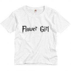 Flower Girl Customizable Youth Tee