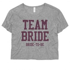 Team Bride To Be
