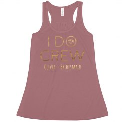 Gold Metallic I Do Crew Bachelorette