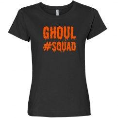 Ghouls Squad Hashtag Halloween Bachelorette