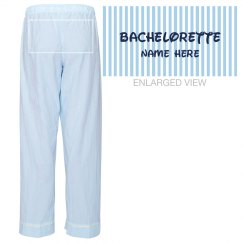 Blue Stripe Bachelorette
