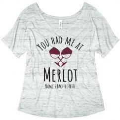 Custom Merlot Bachelorette Party