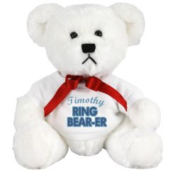 Cute Ring Bearer Bear