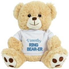 Cute Ring Bearer Bear