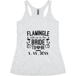 Custom Date Flamingle Bride