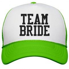 Team Bride Varsity Green
