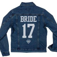 Cusotm 2017 Diamond Bride To Be