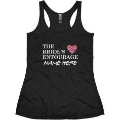 Custom Bride's Entourage Name