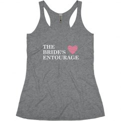 The Bride's Entourage Heart