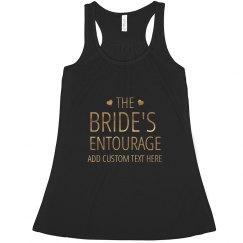 The Bride's Entourage Hearts