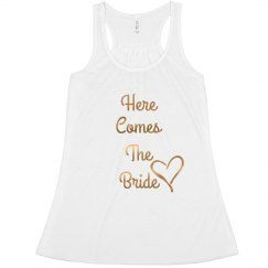 Here Comes The Bride Gold
