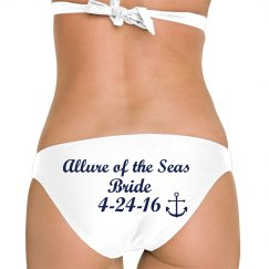 Nautical Bride Swimwear