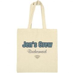 Jen's Bridesmaid Tote Bag