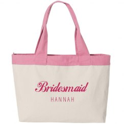 Bridesmaid Logo Script