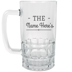 Custom Name Stein Gift