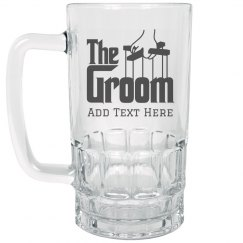 Custom Groom's Drinking Gift