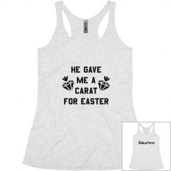 Future Mrs Easter Proposal Tank Top