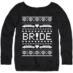 brides christmas sweater - Custom Christmas Sweater