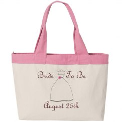 Bride To Be Beach Tote