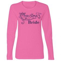Christmas Bride Tshirt