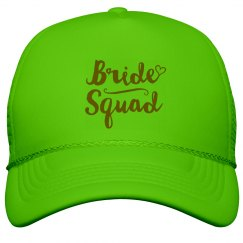 Bride Squad Trucker Hat