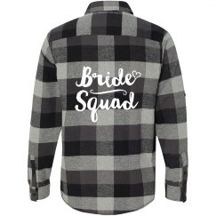 Bride Squad Flannel Shirt