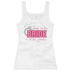 Soon To Be Bride Tank